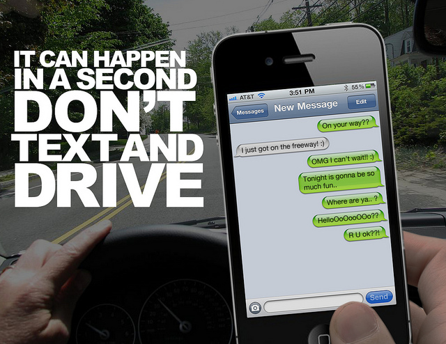 Please Don't Text and Drive