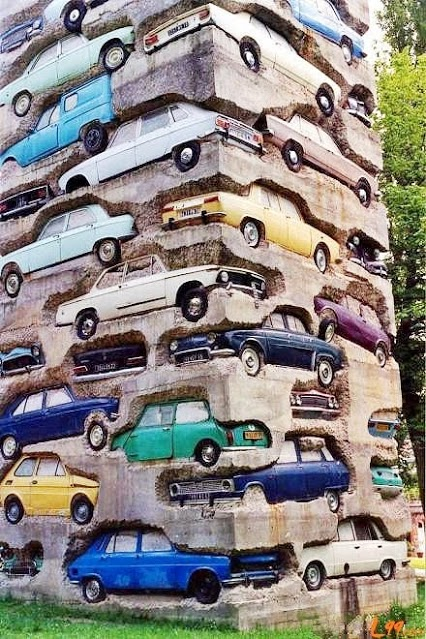 Friday Funny - Long Term Parking!